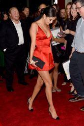 Selena Gomez in Red Mini Dress -
