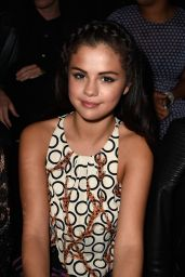 Selena Gomez - Paris Fashion Week - Louis Vuitton Show, Oct. 2014