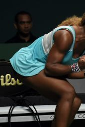Serena Williams – 2014 WTA Finals in Singapore (vs Ana Ivanovic)