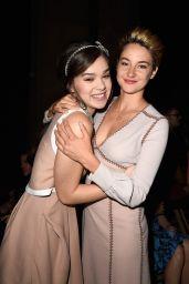 Shailene Woodley - Paris Fashion Week - Miu Miu Show - October 2014
