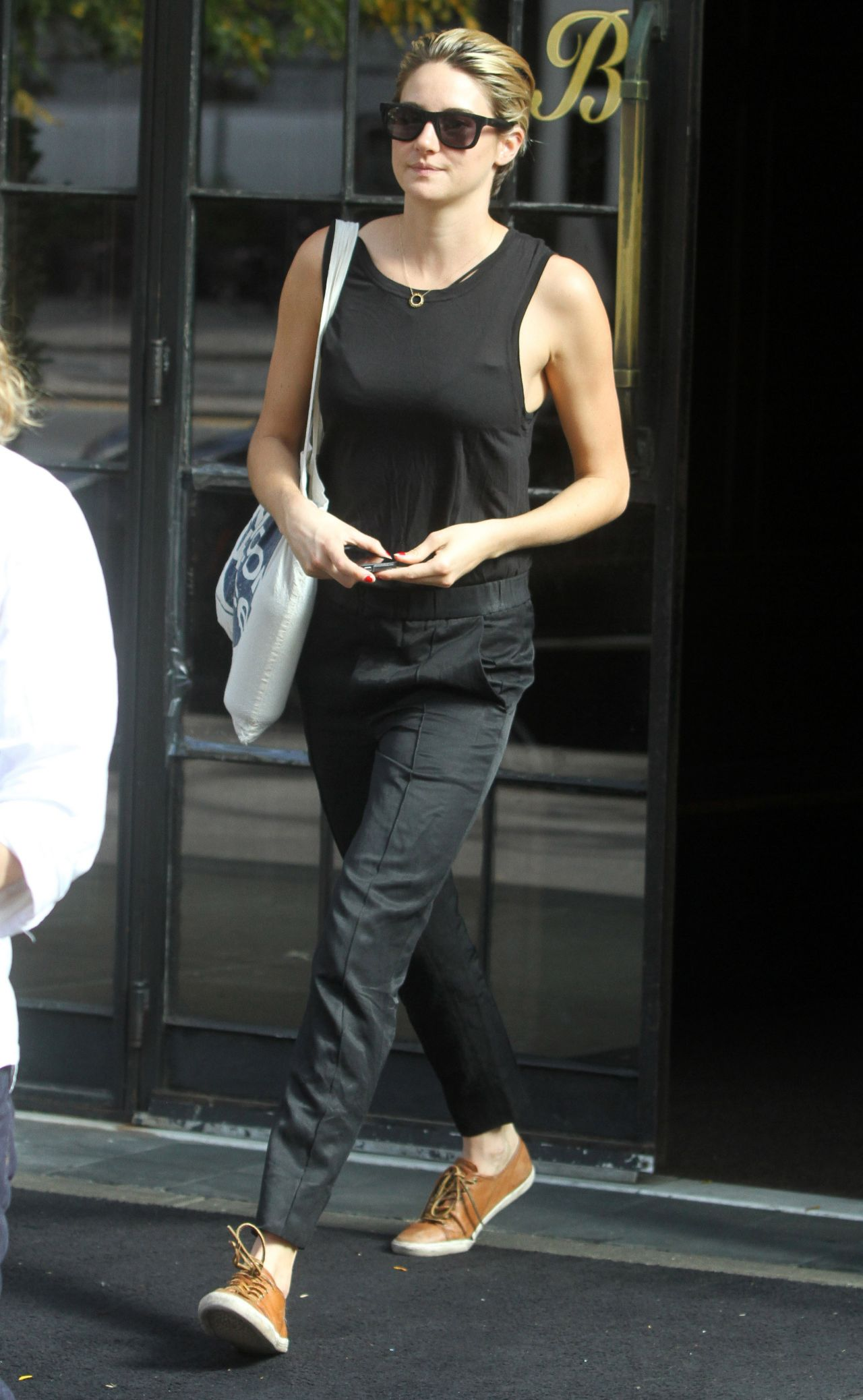 Shailene Woodley Street Style Out In New York City Oct