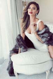 Shay Mitchell - Glamour Magazine (Mexico) November 2014 Issue