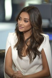 Shay Mitchell on the Set of VH1 Big Morning Buzz Live in NYC - October 2014