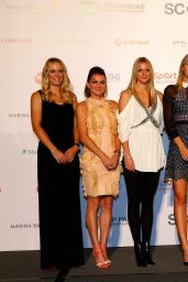 Simona Halep – Draw Ceremony for the BNP Paribas WTA Finals 2014
