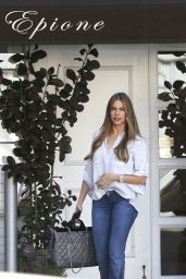Sofia Vergara in Jeans - Out in Beverly Hills, October 2014