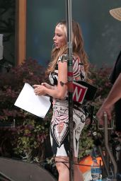 Sofia Vergara On the Set of