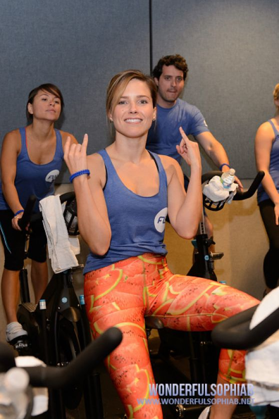 Sophia Bush - Flywheel Sports