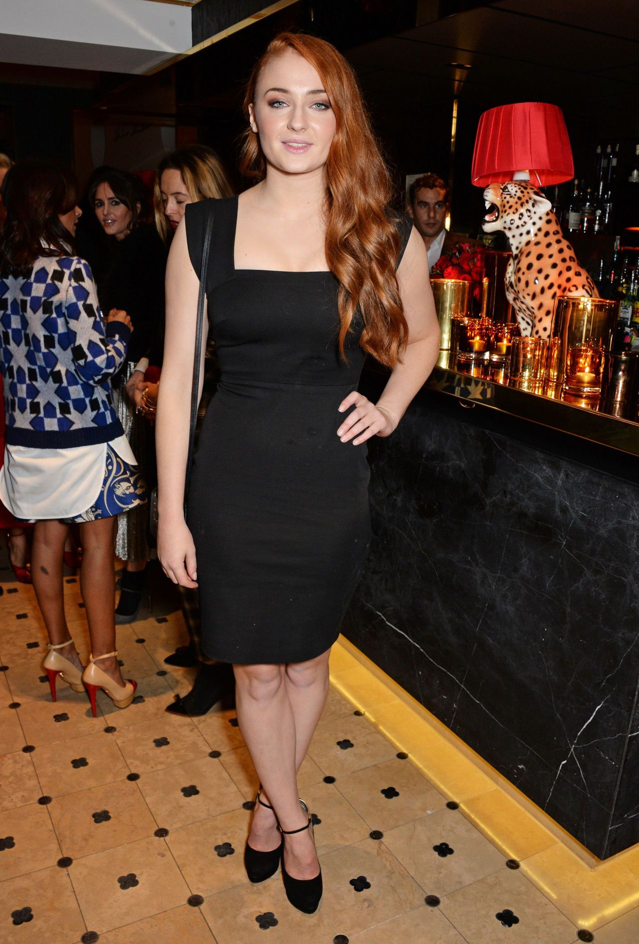 Sophie Turner in London - Charlotte Olympia