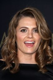 Stana Katic at L.A. Philharmonics Walt Disney Concert Hall Opening Night