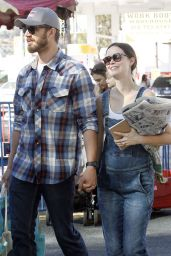 Summer Glau Street Style - Shopping in Studio City - October 2014