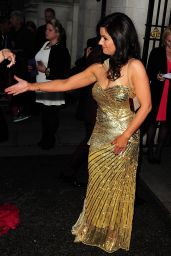 Susanna Reid Arriving at the Pride of Britain Awards 2014