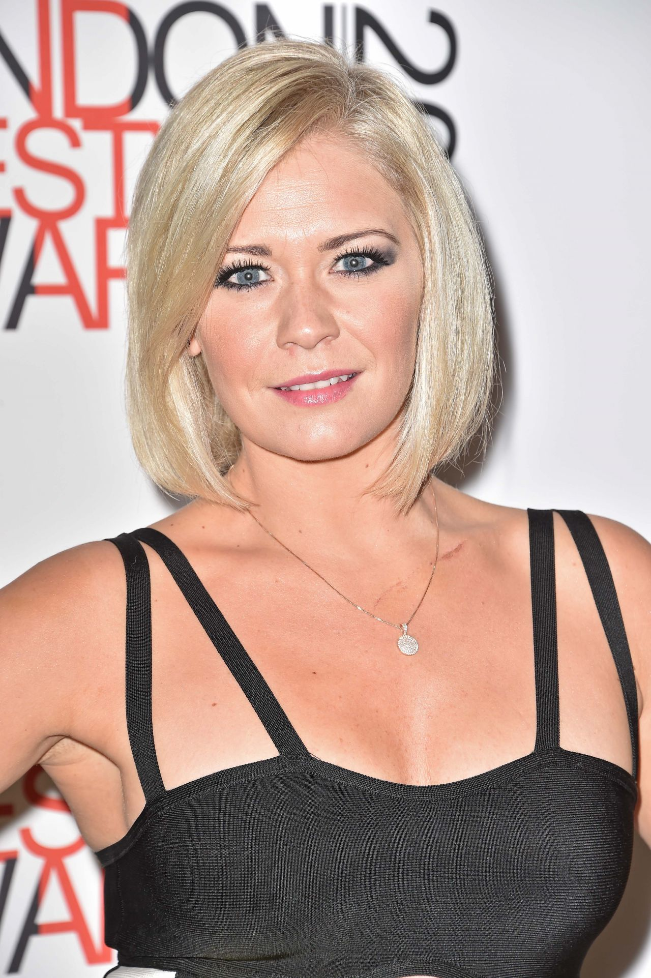 suzanne shaw at the london lifestyle awards 2014