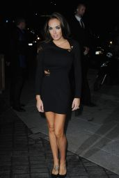 Tamara Ecclestone in Mini Dress - Mondrian Hotel Launch Party in London - October 2014