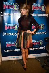 Taylor Swift Airs Live on SiriusXM Hits 1 at SiriusXM Studios - October 2014