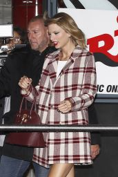 Taylor Swift Arriving at NRJ Radio in Paris, October 2014