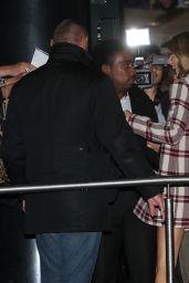 Taylor Swift Arriving at NRJ Radio in Paris, October 2014
