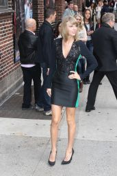 Taylor Swift Arriving to Appear on David Letterman Show in New York City - October 2014