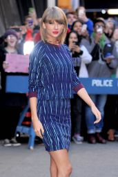 Taylor Swift Arriving to Appear on Good Morning America in New York City -  October 2014