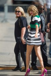 Taylor Swift Arriving to Appear on Jimmy Kimmel Live in Hollywood - October 2014