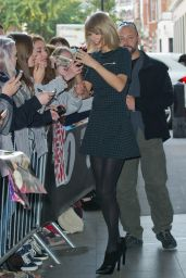 Taylor Swift at BBC Radio 1 in London - October 2014