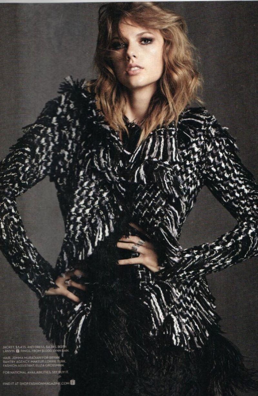 Taylor Swift Fashion Magazine Canada November 2014 Issue