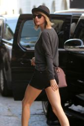 Taylor Swift in Shorts - Out in New York City - Oct. 2014
