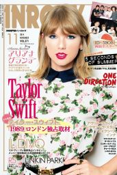 Taylor Swift - InRock Magazine (Japan) - November 2014 Cover