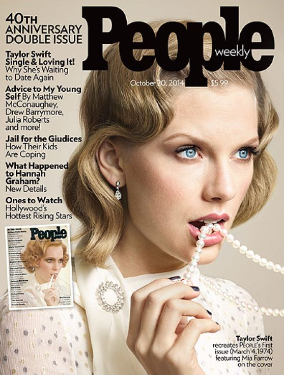 Taylor Swift - People Magazine (USA) October 20, 2014 Issue
