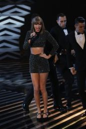 Taylor Swift Performing on X-Factor UK in London - October 2014
