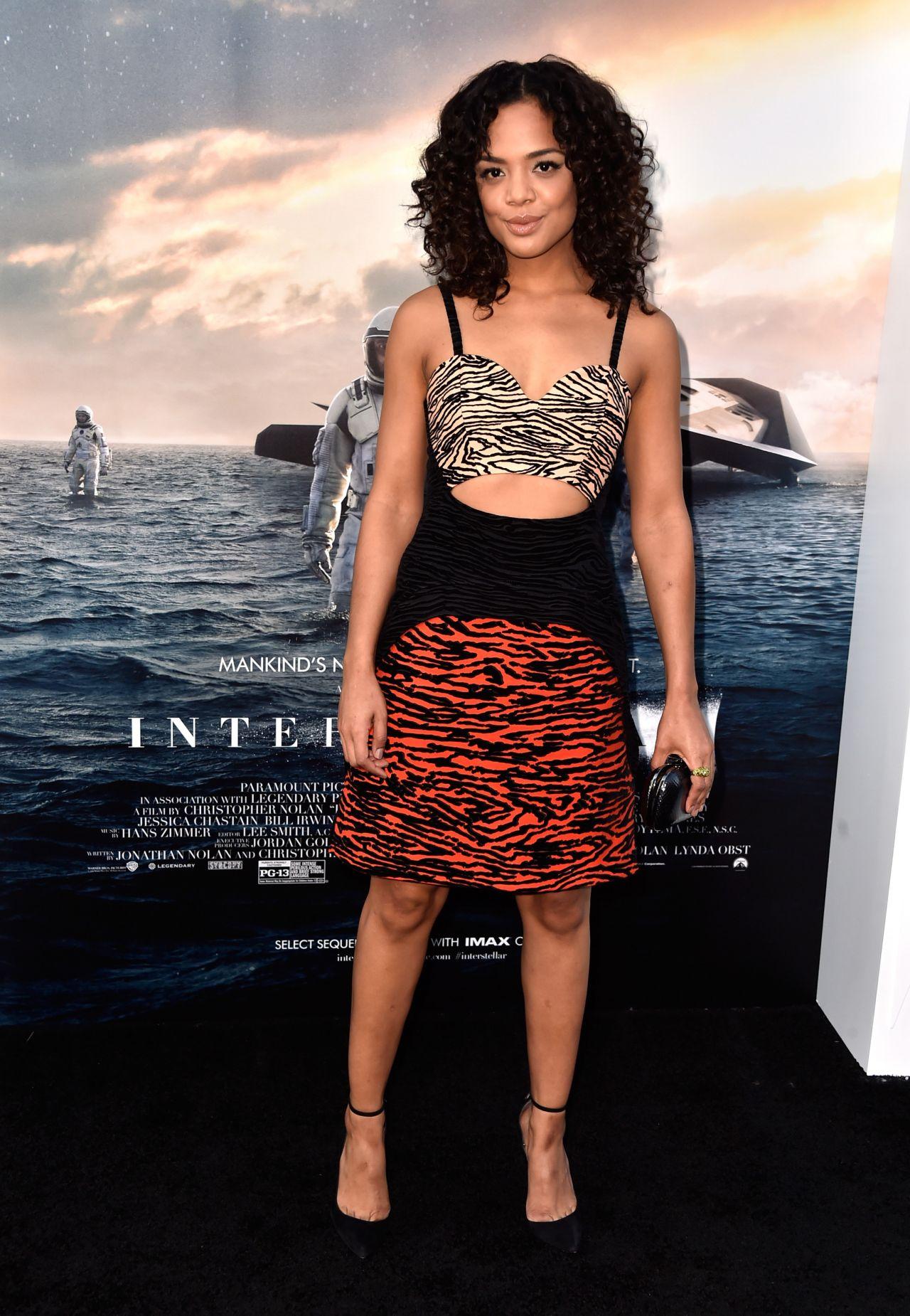 Tessa Thompson Interstellar Premiere In Hollywood