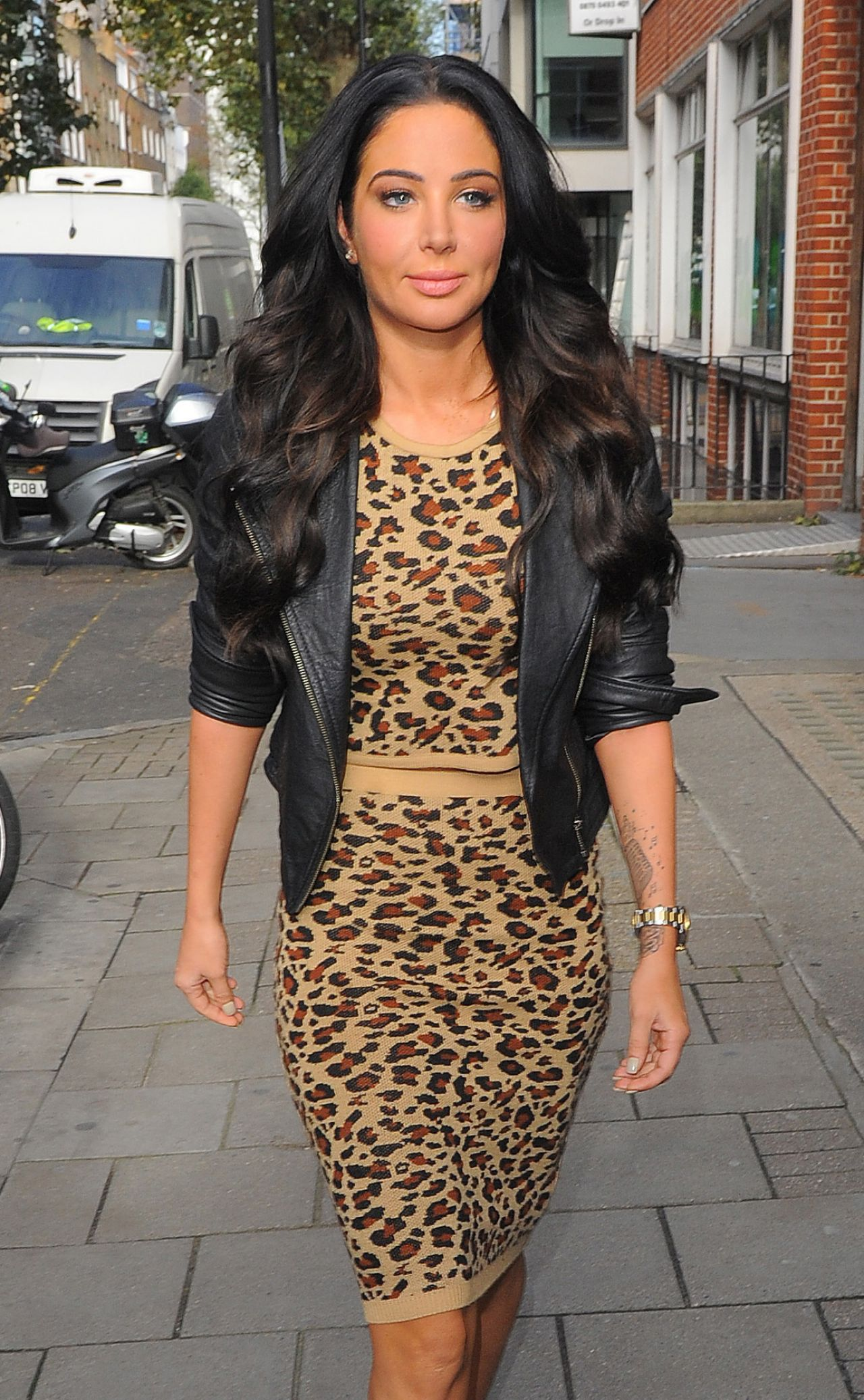 Tulisa Contostavlos at Capital and Global Radio in London - October 2014