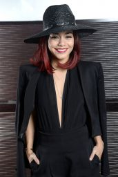 Vanessa Hudgens - Gimme Shelter Photocall in Paris - October 2014