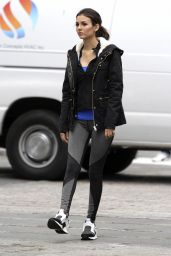 Victoria Justice – Filming a Promo for 'Eye Candy' in Brooklyn (Part II) – October 2014