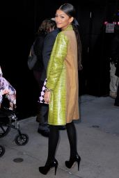 Zendaya Arriving to Appear on