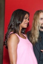 Zoe Saldana - AMPAS Hollywood Costume Opening Party in Los Angeles