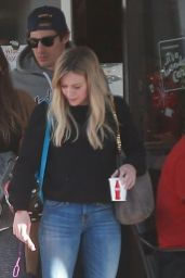 Hilary Duff in Jeans - Out in Beverly Hills, November 2014