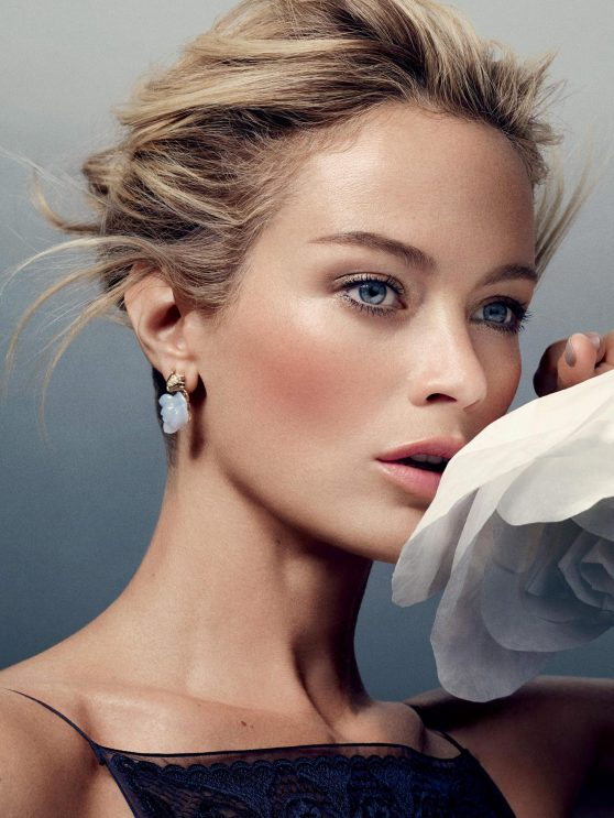 Carolyn Murphy - Harper's Bazaar Magazine (UK) December 2014 Photoshoot