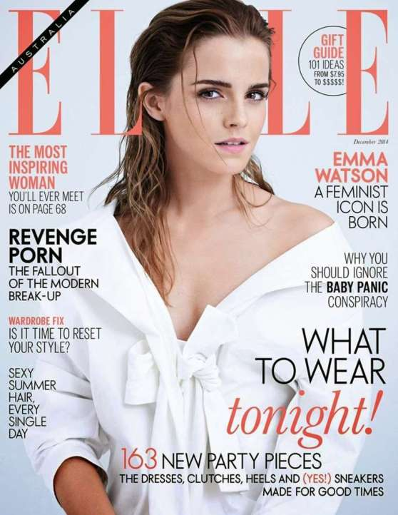 Emma Watson – ElleMagazine (Australia) Cover - December 2014