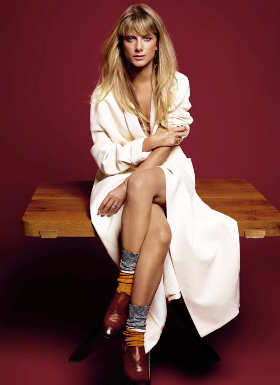 Melanie Laurent - Photoshoot for Grazia Magazine (France) November 2014
