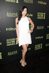 Aimee Garcia – HFPA & InStyle Celebrate 2015 Golden Globe Award Season in West Hollywood