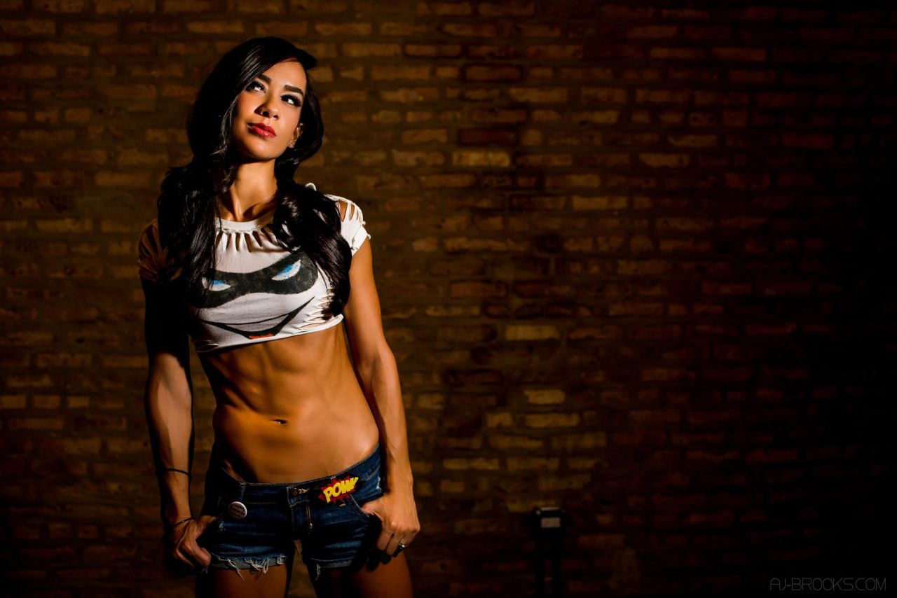 AJ Lee Photoshoot - Crazy Chick (2014)