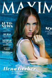 Alena Gerber - Maxim Magazine (Switzerland) November/December 2014 Issue