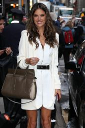 Alessandra Ambrosio & Adriana Lima Arriving to Appear at