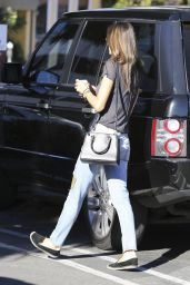 Alessandra Ambrosio - Out in Los Angeles, November 2014