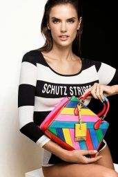 Alessandra Ambrosio - Photoshoot for Schutz Summer 2015