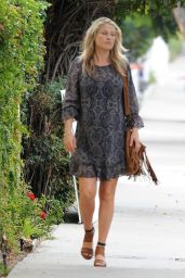Ali Larter Street Fashion - Out in Beverly Hills - November 2014