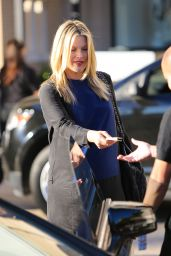 Ali Larter Style - Leaving Barneys New York in Beverly Hills - November 2014
