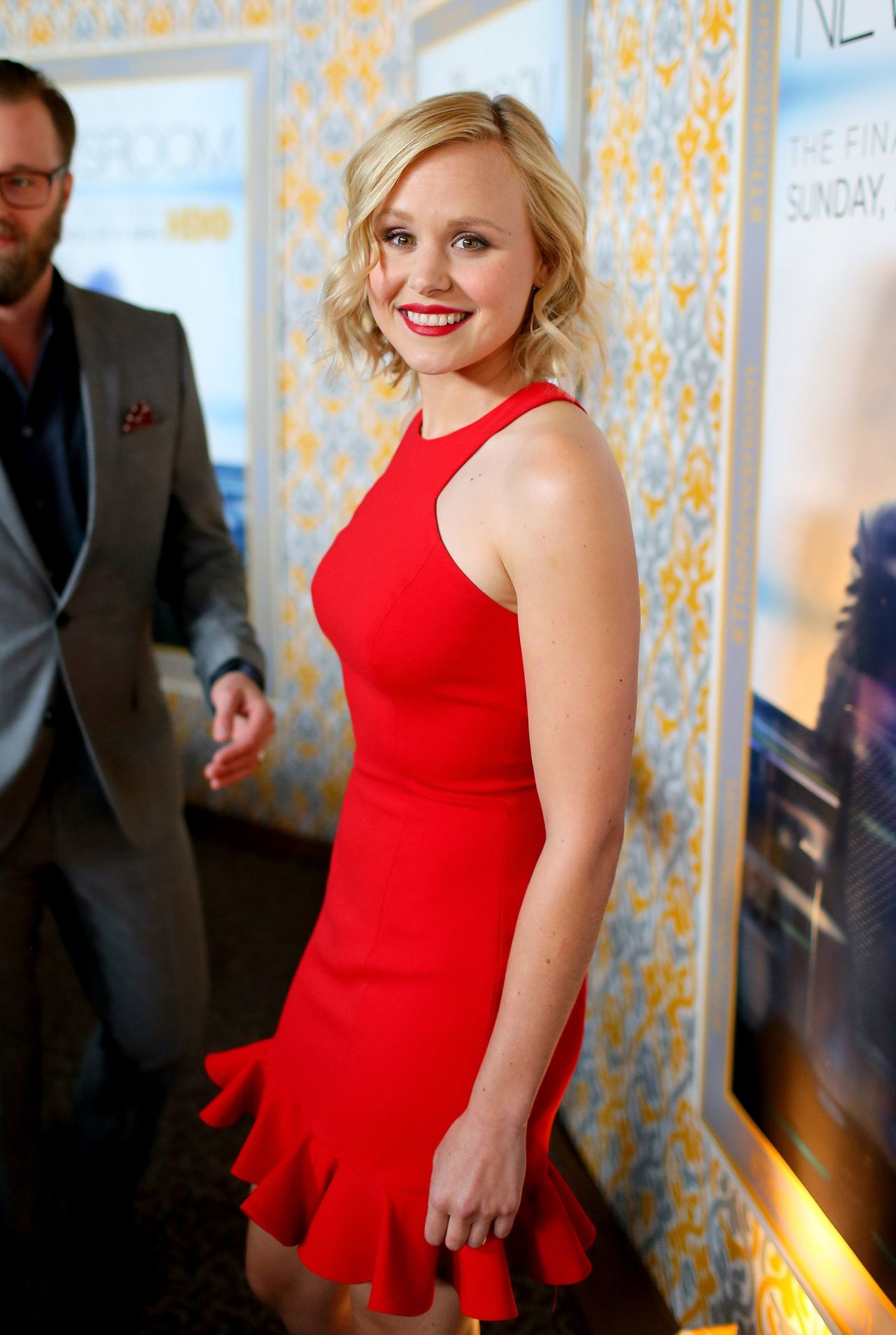 Alison Pill Hbo S Newsroom Season 3 Premiere In Hollywood