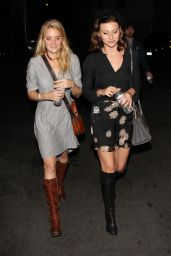 Amanda AJ Michalka & Alyson Aly Michalka - the Troubadour in West Hollywood - October 2014