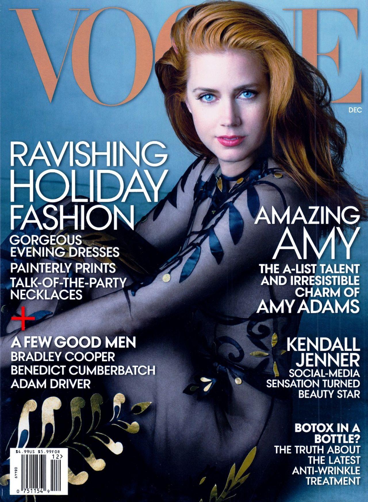 Vogue Usa Magazine Subscription: Vogue Magazine Cover (USA) December 2014